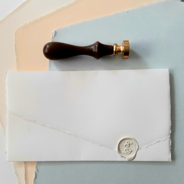 Partecipazione classica in carta amalfi