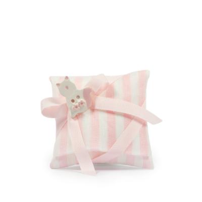 Busta rigata H 8 cm, L 9 cm rosa