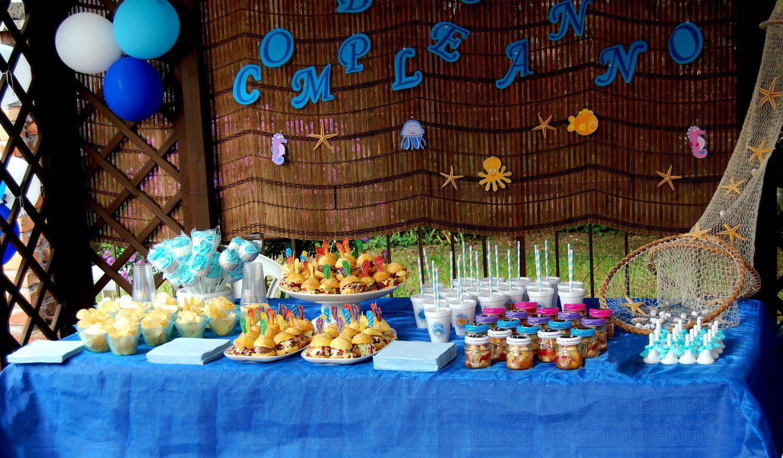 Sea Themed Birthday Party