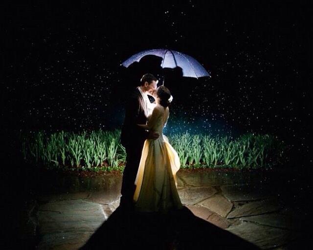 Matrimonio con pioggia