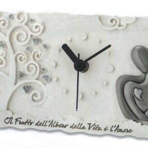 Orologio Albero della vita e Coppia sposi