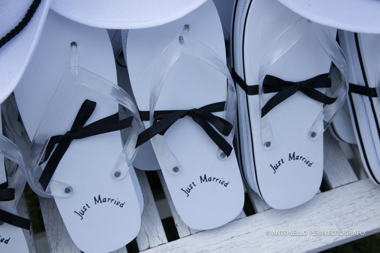 nuovi prodotti caldi caldo-vendita professionale più votato Infradito Just Married!