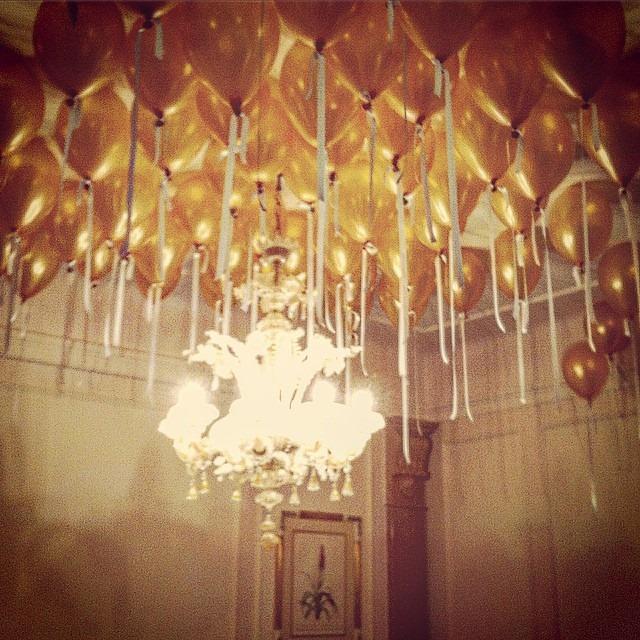 Palloncini dorati