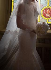 abito sposa con pizzo