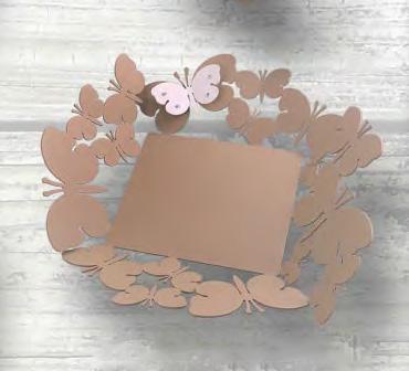 bomboniera vassoio farfalle