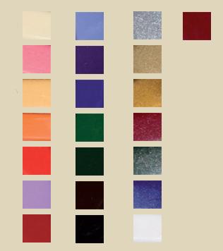 Barrette colorate ceralacca