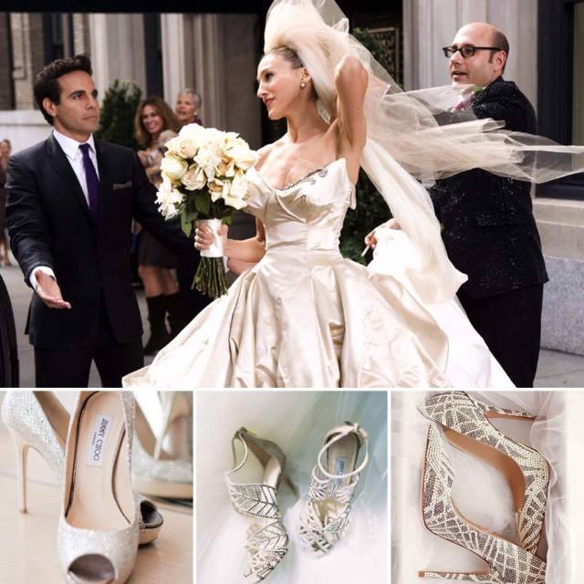 abtio e scarpe da sposa fashion style