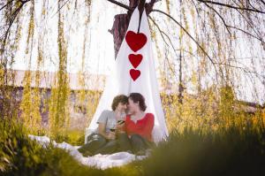 Proposta di matrimonio primaverile