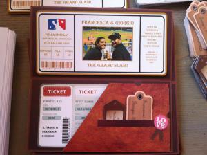 partecipazione tema viaggio e baseball