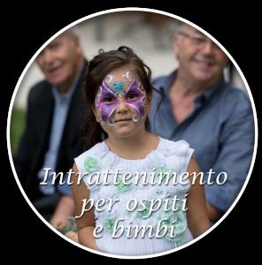 intrattenimento ospiti e bambini feste private ed eventi