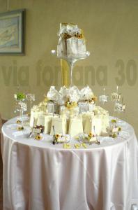 Tavolo confetti e bomboniere