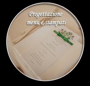 progettazione menu e stampati