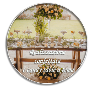 confectionery or candy table installation
