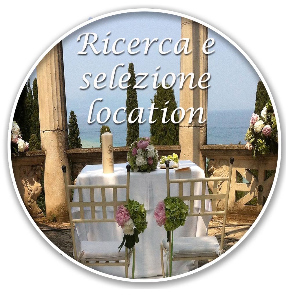 ricerca e selezione location matrimoni