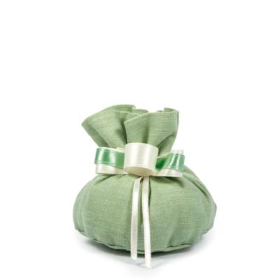 sacchetto 10 x 8 verde