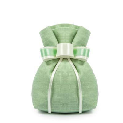 sacchetto 11 x 10cm verde