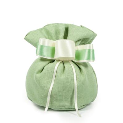 sacchetto 14 x 10 cm verde
