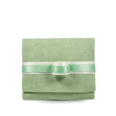 sacchetto busta 8 x 9cm verde