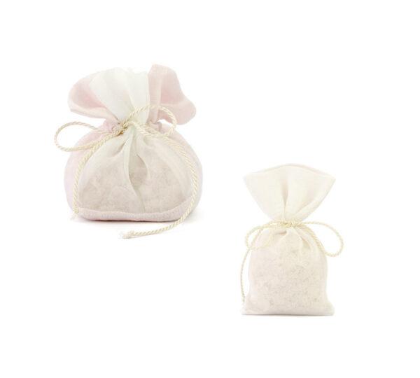sacchetto lino ssacchetto lino saponi avorioaponi avorio