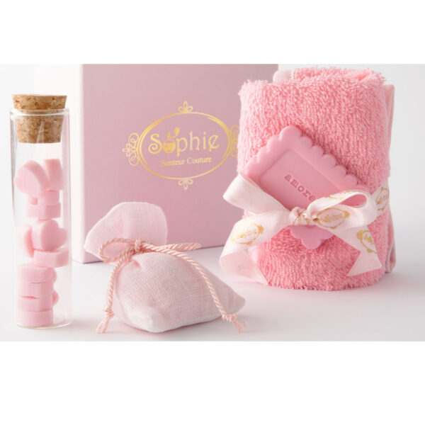 scatola lavette fiala sacchetto scaglie biscotto