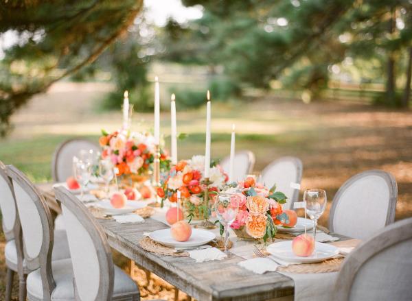 Wedding planner tavolo pesca