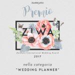 ziwa2017-premio Wedding planner