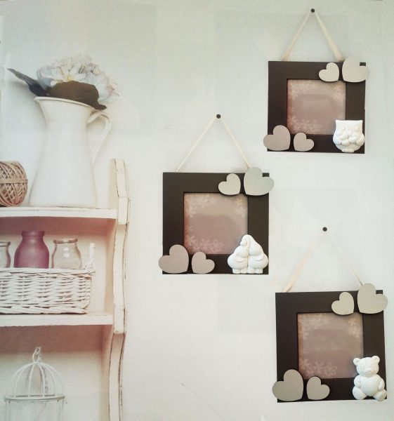 quadretto portafoto shabby via fontana 30 shop online. Black Bedroom Furniture Sets. Home Design Ideas