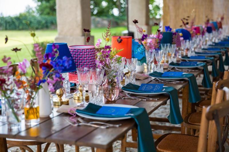 Luxury wedding on lake garda